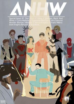 webzine cover