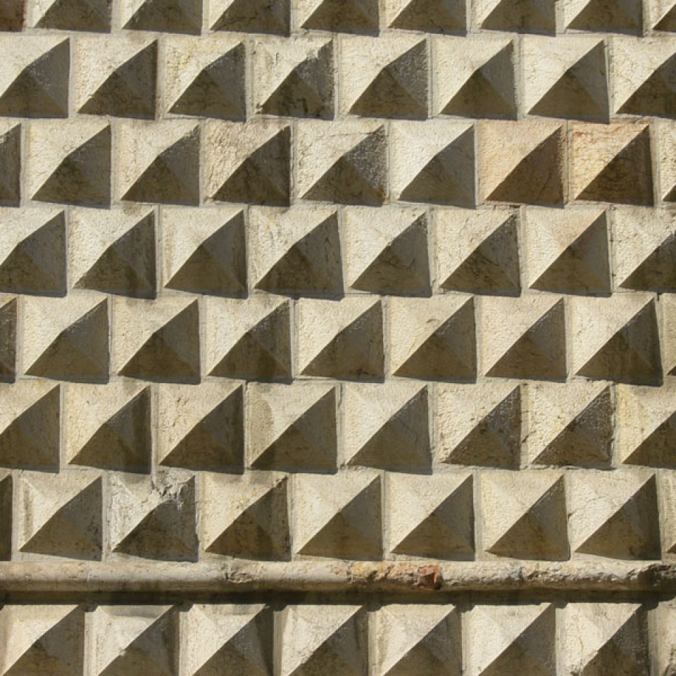 Palazzo dei diamanti texture