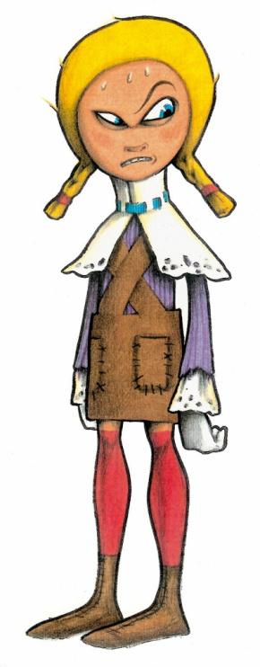 """Disegno per il progetto del libro illustrato """"Hansel & Gretel"""""""