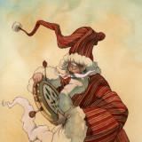 Der verspatete weihnachtsman (copyright Friedrich Reinhardt)